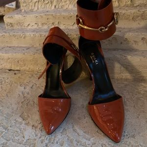 Gucci Ursula Ankle Strap Pump